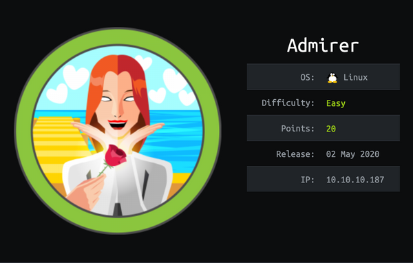 HackTheBox - Admirer | Walkthrough
